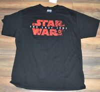 Star Wars The Last Jedi Graphic T-Shirt Mens Logo Style Tee Officially Licensed