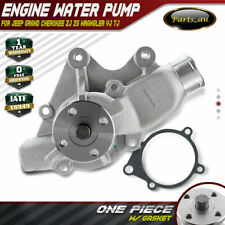 Water Pump for Jeep Grand Cherokee ZJ ZG 4.0L Wrangler YJ/TJ 2.5L/4.0L W/ Gasket