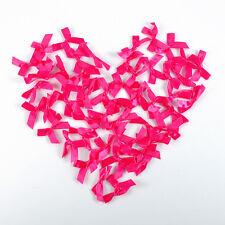 50pcs Mini Satin Ribbon Flowers Bows Gift Craft Wedding Decoration U pick DIY