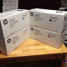 New Genuine HP 651A  CE340A CE341A CE342A CE343A set for  MFP M775