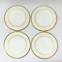 """Set of (4) Noritake White Palace Bone China Bread Butter Plate 4753 Japan 6-3/4"""""""