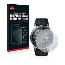 Samsung Galaxy Watch (46 mm) Echt Glas Panzerfolie 9H Schutzpanzer Glasfolie