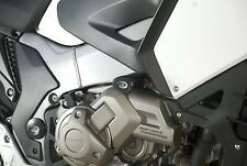 R&G White Crash Protectors - Aero Style for Honda Crosstourer 2014