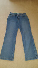 Kim Rogers Light Blue Stretch Cotton Blend Boot Cut Women`s Jeans Size 4P