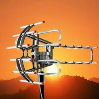 480Miles Long Range HD Digital Antenna TV HDTV Outdoor Antenna 4K 1080P VHF/UHF