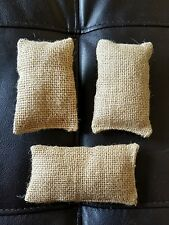 1/6 SCALE LOT OF 3 SAND BAGS FOR 12 INCH FIGURES GIJOE DRAGON BBI 21ST TANK DID