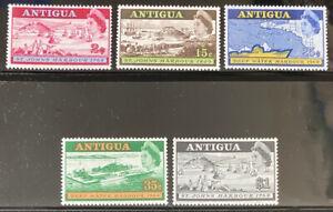 ANTIGUA  208 - 212  Beautiful  Mint  NEVER   Hinged  Set   AG