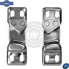 1952-1963 Chevy Pickup Pick Up Truck Door Latch Striker Plate - PAIR
