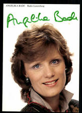 Angelika Bade Radio Luxemburg Autogrammkarte Original Signiert ## BC 30597