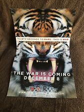 Thirty Seconds To Mars This Is War Poster - Promotional