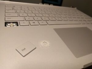 Genuine Surface Book Keyboard Single Key and Hinge Replacements