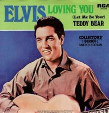 7inch ELVIS PRESLEY loving you  US 1977 collectors serie NEAR MINT (S2398)