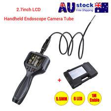 "2.7"" Video Inspection 5.5mm Snake Scope Camera Borescope Endoscope Camera+BOX AU"