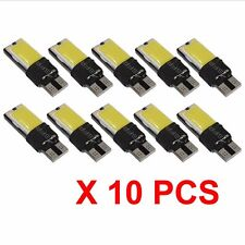 10x LED T10 W5W COB Car Canbus Error Free Door Side Bulb White Light 168 192 501