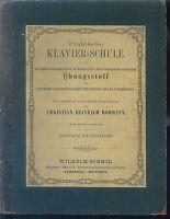 Hohmann , Praktische Klavier-Schule Übungsstoff ~  privat gebunden, alte Noten