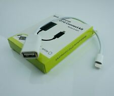 OTG-Adapter-Cable-iPhone 5 5s 5c iPad-4-Mini-Air 8pin Male to USB Female - 3H