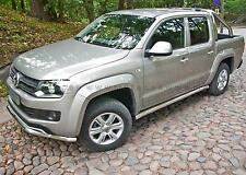 BARRES LATERALES X2 INOX VW AMAROK 11- INOX DIAM 60MM