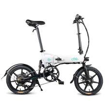 """FIIDO D2S Variabler Geschwindigkeit E-Faltrad Weiß 7.8Ah 16""""Elektrofahrräder EU"""