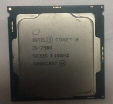 Intel Core i5-7500 Quad Core 3.40Ghz 6MB LGA 1151 CPU Processor SR335 7th Gen