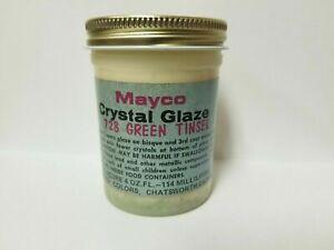 Mayco Crystal Variety Colors 4 oz. NOS