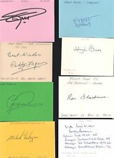 Card Signed by MALCOLM FINLAYSON the WOLVERHAMPTON WANDERERS 1948-1964 Football