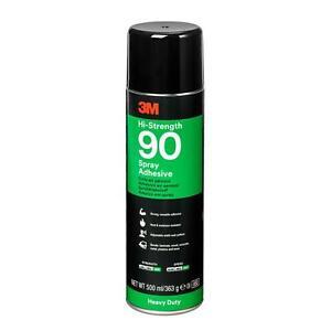Sprühkleber 3M 90 Hi-Strength 500 ml Kunststoffkleber PE PP Schaumstoffkleber