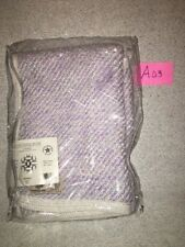 Kennebunk Home Baby Infant  Snuggle Blanket Lilac  Hand Woven Wrap  Blanket  NWT