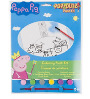 Peppa Pig Pop- Outz Paint Kits Coloring Paint Boards For Kids
