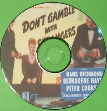 FILM NOIR 370: DON'T GAMBLE WITH STRANGERS 1946 W. Beaudine, Richmond, Hayes