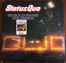 STATUS QUO,12 GOLD BARS DOUBLE ALBUM,ORIGINAL,LP 33.VINYL EXCELLENT CONDITION