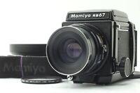 【NEAR MINT w/ Hood】 Mamiya RB67 Pro Sekor NB 90mm F3.8 Lens 120 Film Back JAPAN