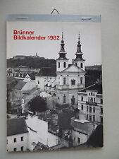 Brünner Bildkalender 1982 Brünn Mähren Tschechien Kalender Südmähren