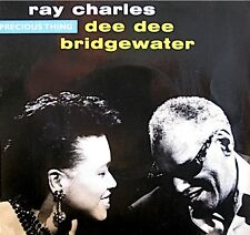 RAY CHARLES/DEE DEE BRIDGEWATER precious thing/sunset and blue SP 1989 PROMO EX+