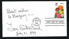 Tom Sutherland signed autograph auto First Day Postal Cover FDC Rifle Shooter