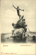 Bremen alte Ansichtskarte Postkarte ~1900 Teichmannbrunnen Brunnen ungelaufen
