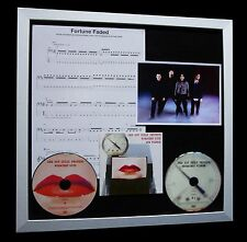 RED HOT CHILI PEPPERS Fortune Faded LTD TOP QUALITY CD FRAMED DISPLAY+FAST SHIP