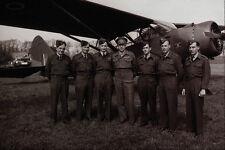 507090 Crerar With Air Crew 1945 Netherlands Bell DND 164016 A4 Photo Print