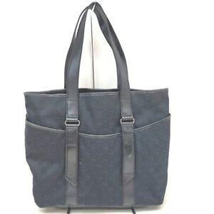 Gucci Tote Bag  Black Canvas 1515808