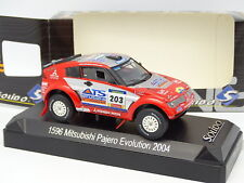 Solido 1/43 - Mitsubishi Pajero Evolution Dakar 2004 No.203