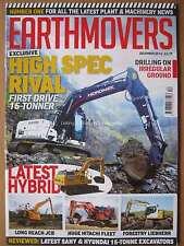 Earthmovers December 2016 Liebherr R9 14XLC Long Reach CAT 6015B Sandvik DX800