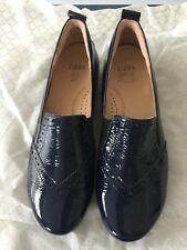 Ziera Dark Blue Patent Leather Shoes - Size 37.5 - Brand new without box