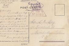 WW1 ANZAC Thomas Mathers 13812 Army Medical Corp 1916 postcard view of Jaffa