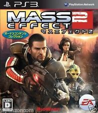 Used PS3 Mass Effect 2  SONY PLAYSTATION 3 JAPAN JAPANESE IMPORT