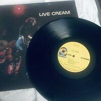Live Cream LP Vinyl Atco Records SD 33-328 1979