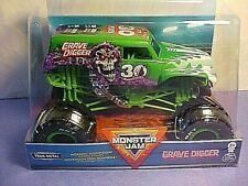 Spinmaster MONSTER JAM GRAVE DIGGER big 1 24 Scale 30th Anniversary chevY truck
