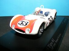 Maserati Tipo 61 'Birdcage' #53 Winner at Riverside  Rare Minichamp  1:43 NLA