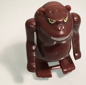 "Vtg wind up toy Bandai Monster Working TIAWAN Greechies 2.5"" tall movable arms"