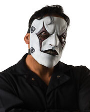 Adults Slipknot Band Jim Root Musician Face Mask Costume Accessory