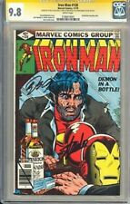 IRON MAN #128 CGC HIGH GRADE 9.8 3x STAN LEE SIGNED 🔑 📈 ONE OF 23