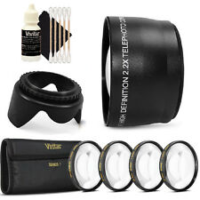 52mm Telephoto Lens Kit for Canon EOS Rebel T5 T5i and All Canon DSLR Camera